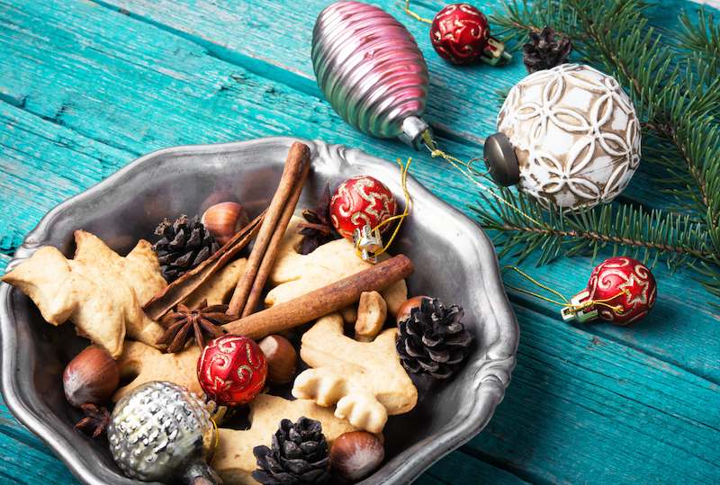 pasta di sale decorazioni natalizie