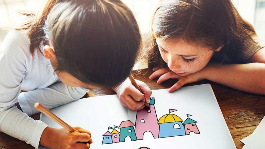 castelli di carta per bambini