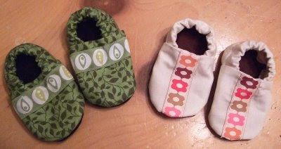 scarpine fai da te per neonati