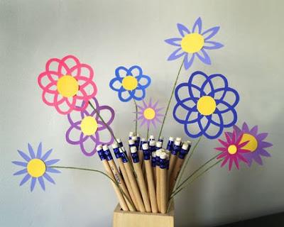 fiori di carta intagliata