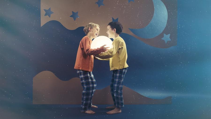 idee a tema luna per i bambini