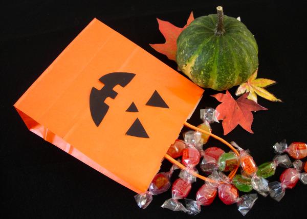 borsa portadolci di halloween