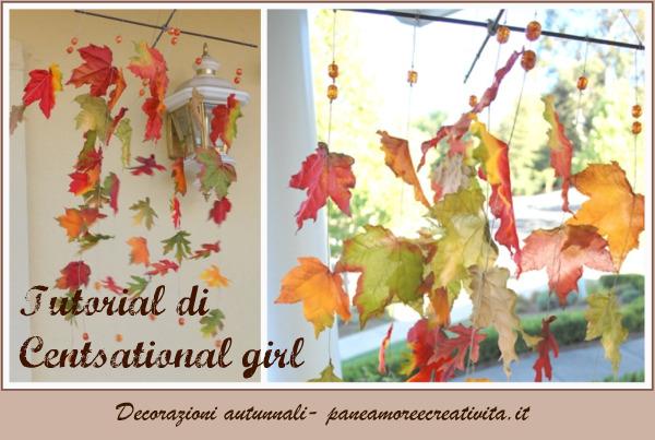 Idee per decorare la casa in autunno pane amore e for Addobbi finestre autunno scuola infanzia