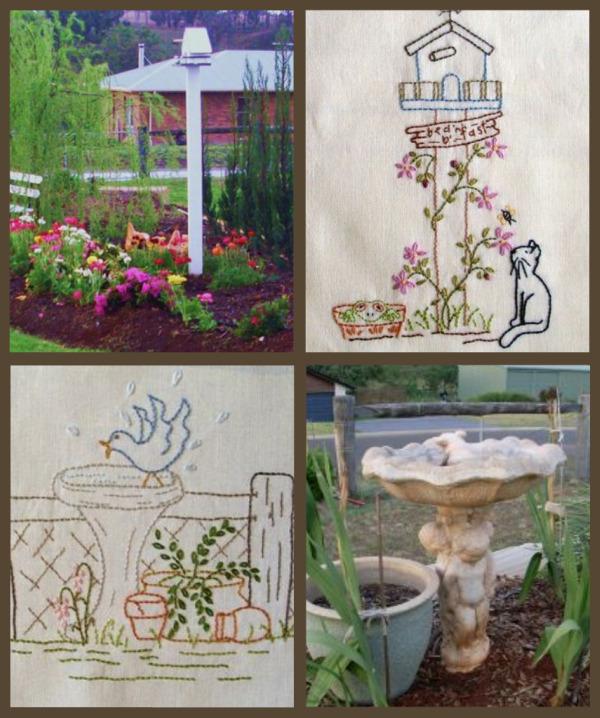elementi del giardino