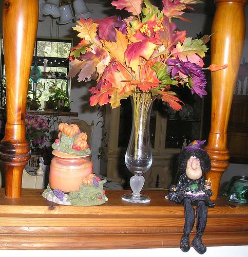 foglie decorative per halloween