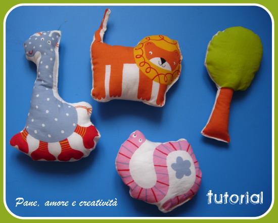 giocattoli di stoffa