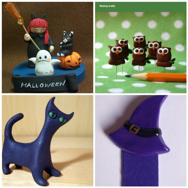 halloween clay