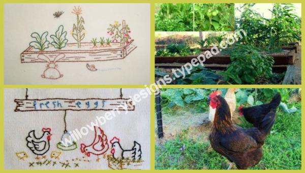 orto e animali da cortile