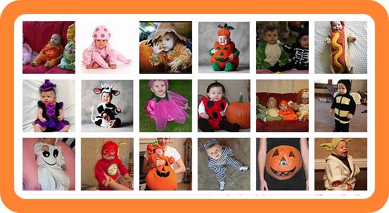 ... alla ricerca di qualche idea per vestire il tuo piccolo ad Halloween