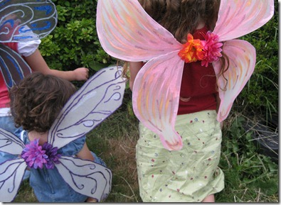 ali di farfalla decorate