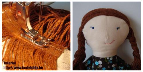 fare i capelli ad una bambola