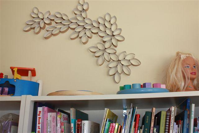 Come riciclare i rotoli della carta igienica e decorare for Decorare una stanza