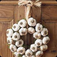 garlic-wreath