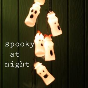 luci fantasma halloween