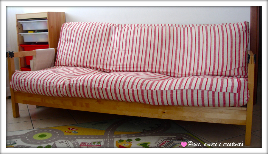Una nuova fodera per il divano ikea lillberg pane amore - Cuscini grandi ikea ...