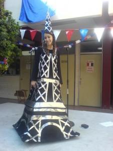 torre eiffel costume
