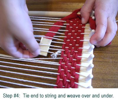 weaving step-4