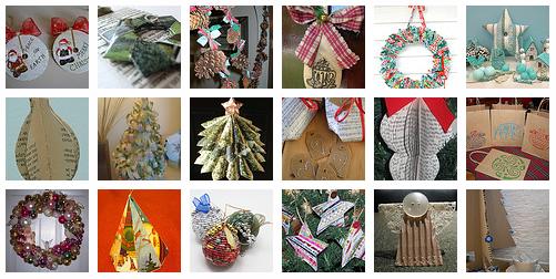 Decorazioni di natale riciclando pane amore e - Decorazioni natalizie con materiale riciclato ...
