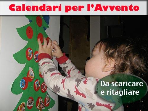 Calendario Di Avvento Per Bambini.Calendario Dell Avvento Da Stampare Pane Amore E Creativita