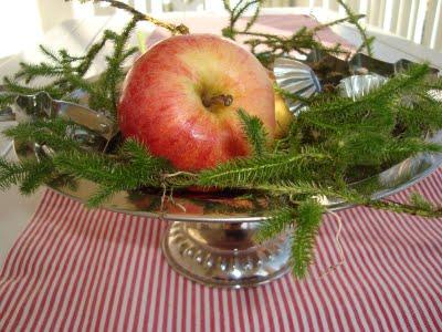 centrotavola con le mele