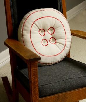 cuscino rotondo per sedia