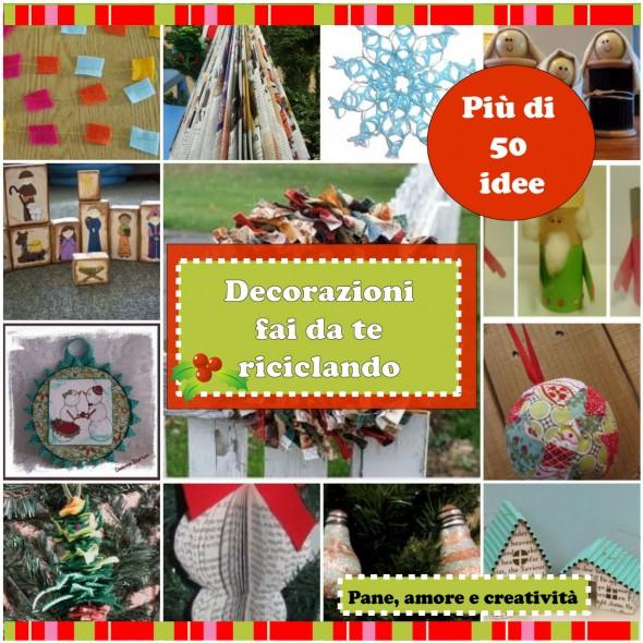 Decorazioni di Natale...riciclando!