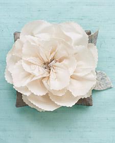 portafedi con fiore maxi