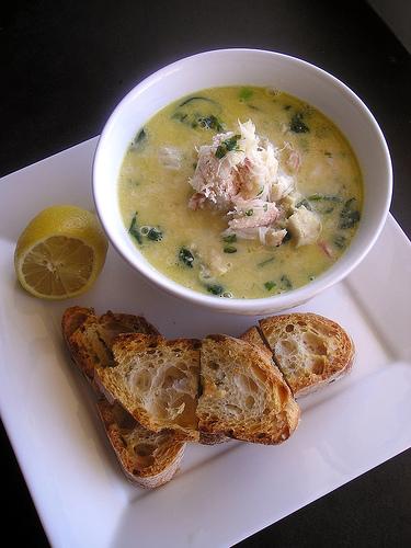 zuppa con pesce