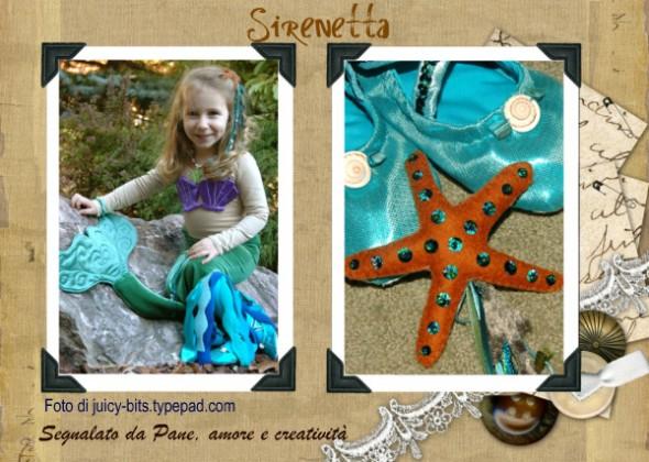 Costume Da Bagno Sirenetta Disney : 50 costumi e idee di carnevale fai da te · pane amore e creatività