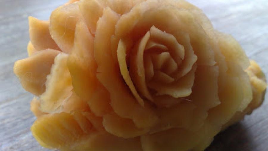 fiori in cucina di verdure
