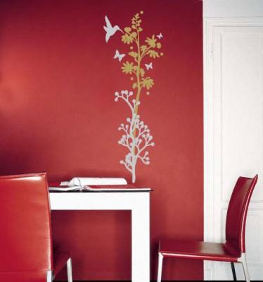 Fiori sulle pareti: decorare con gli stickers   pane, amore e ...