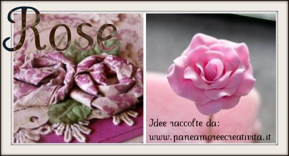 Come fare le rose: di carta, stoffa e di fimo