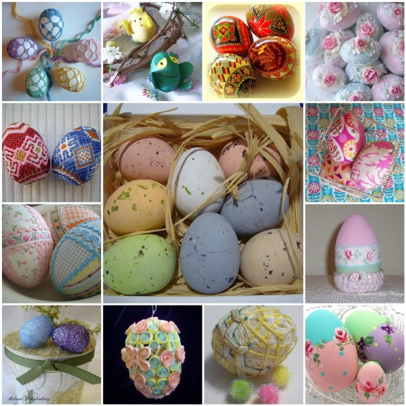 8 modi per decorare le uova di pasqua pane amore e creativit - Decorare uova di pasqua ...