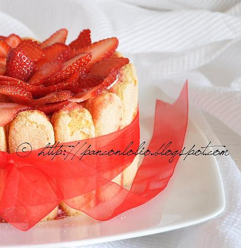 Festa della mamma: torta fredda alla ricotta e fragole