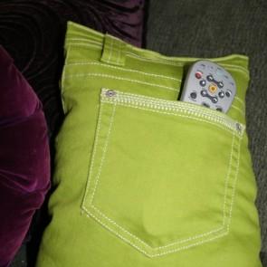 Idee e tutorial di cucito per organizzare gli spazi pane amore e creativit - Porta telecomandi da divano ...