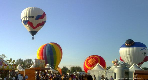 Il Balloons festival di Ferrara