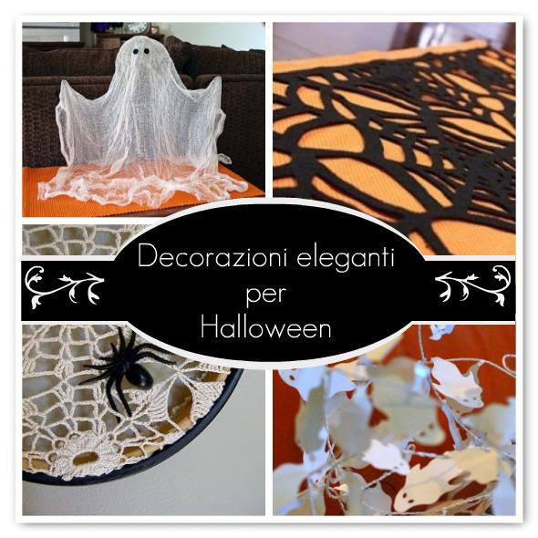 Decorazioni eleganti per halloween pane amore e - Decorazioni tavola halloween ...