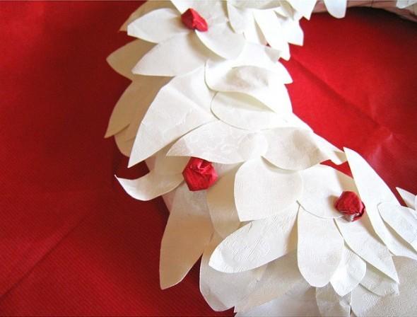 Decorazioni di natale di carta pane amore e creativit - Decorazioni di carta per albero di natale ...