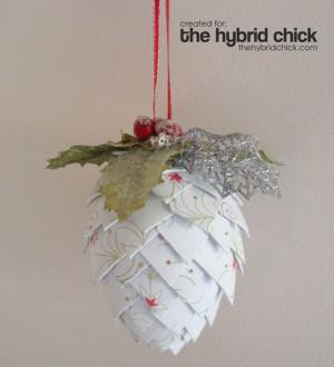 Decorazioni di natale di carta pane amore e creativit - Blog decorazione casa ...