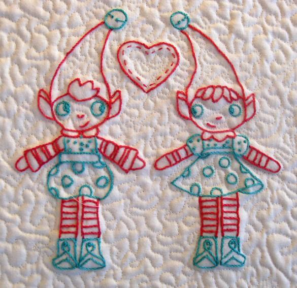 Elfi di natale pane amore e creativit for Disegni di scantinati di sciopero