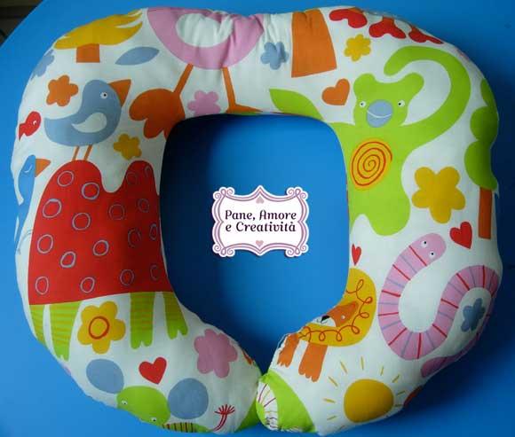 cartamodello cuscino allattamento