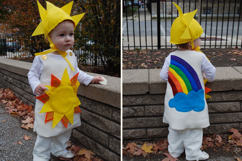 Un bel costume semplice da cucire è quello offerto da merrimentdesign  il  costume che potete vedere nella foto rappresenta il sole. Sfruttando la  forma di ... fc893f557aea