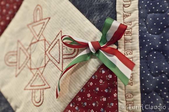 Il patchwork festeggia l'Unità d'Italia: ecco i meravigliosi Quilt in mostra!