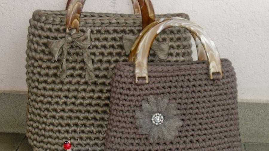Come creare una borsa con la fettuccia