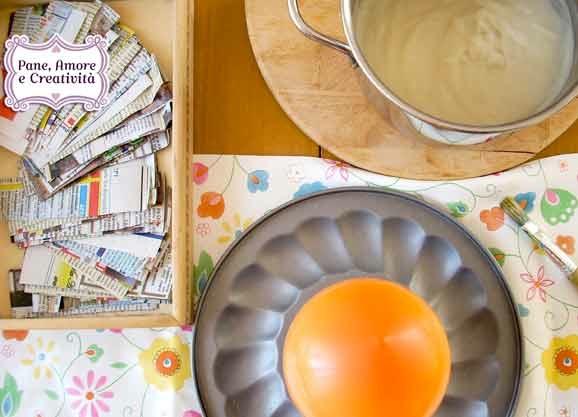 Uova di cartapesta: come le ho create