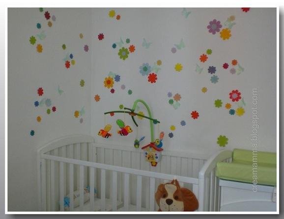 Decorazioni Per Camerette Per Bambini : Decorazioni per la cameretta stickers fai da te a costo zero