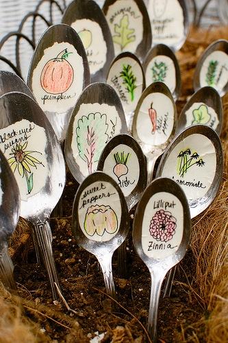 Come riciclare forchette e cucchiai pane amore e creativit - Riciclare tutto in casa ...
