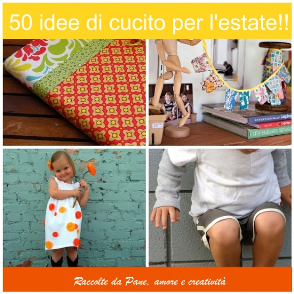 idee cucito per l'estate