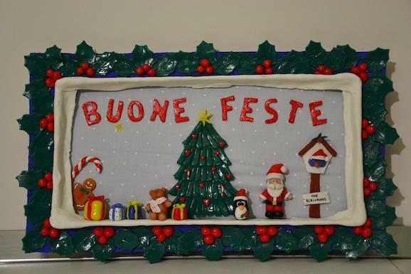 Lavoretti Di Natale Con La Pasta Di Mais.Decorazioni Di Natale Il Fuori Porta Di Pasta Di Mais Pane Amore E Creativita