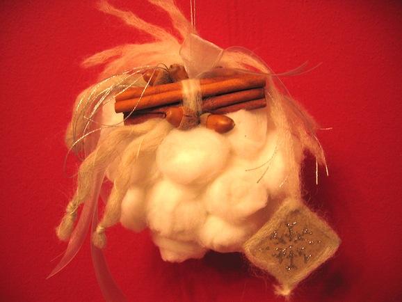 Decorazioni Natale: la pallina morbida come la neve